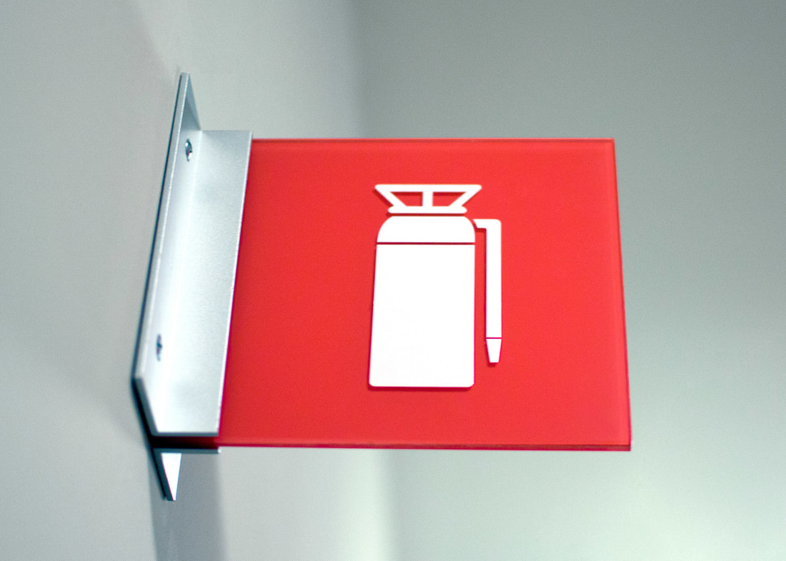 Code Fire Extinguisher Sign