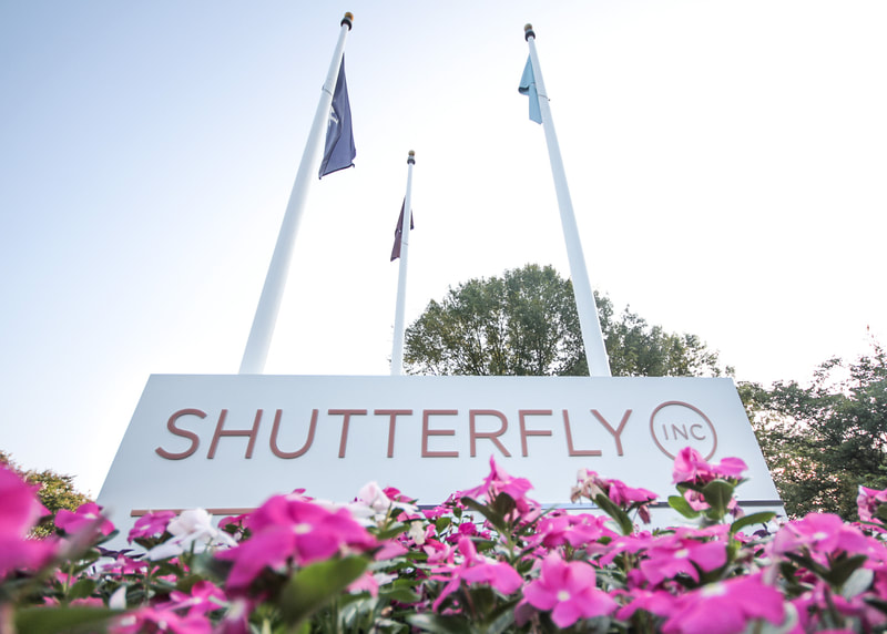 Shutterfly exterior monument