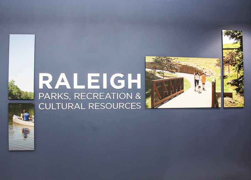 Interior wall graphics raleigh parks, recreation, and cultural resources