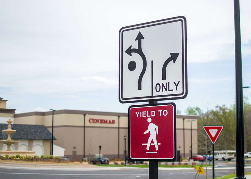 complex traffic sign