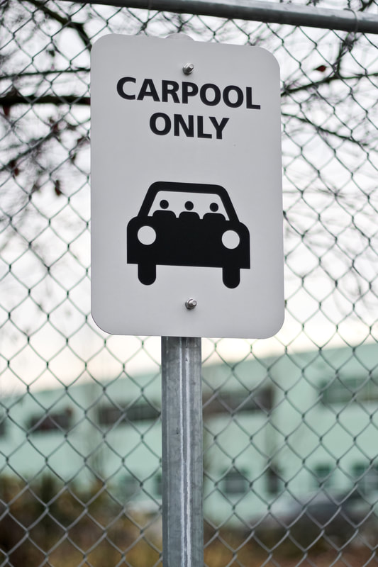 Post and panel parking sign